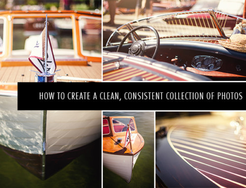 How I Create a Clean, Consistent Collection of Photos